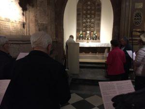Semaine d'adoration au Mont sainte Odile
