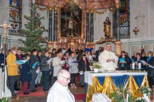Messe d'action de grâce le 30 12 18 à Kogenheim