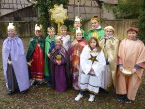 Matzenheim quête des servants d'autel