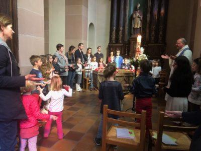 Premier pardon à l'église de Benfeld samedi 30 mars 2019