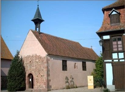 Fête St Ulrich Chapelle du Holzbad 7 Juillet 2019