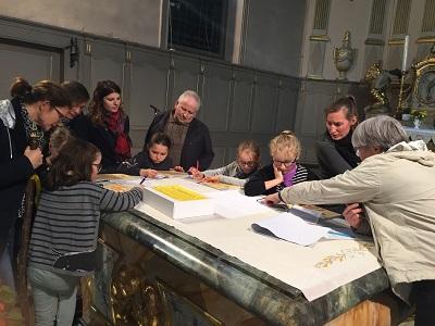 Lancement du caté pour la première année de cheminement des enfants Samedi 19 octobre à Matzenheim