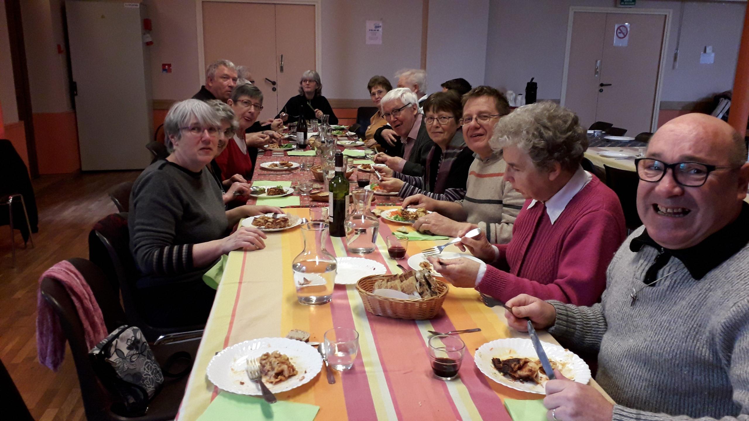 Repas partagé - 1er mars 2020