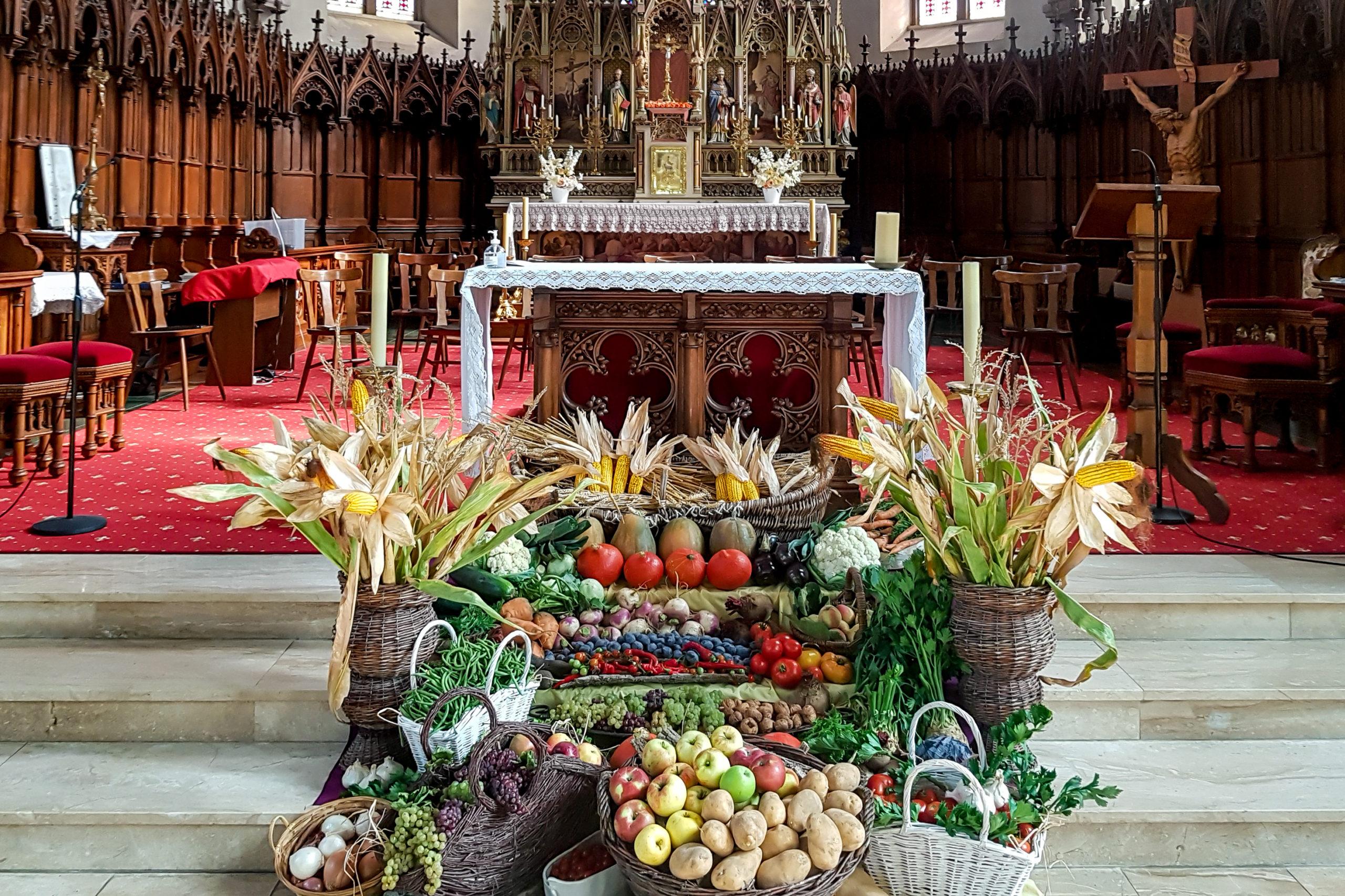 Fête patronale Saint Matthieu et bénédiction des fruits et des récoltes, 20 septembre 2020