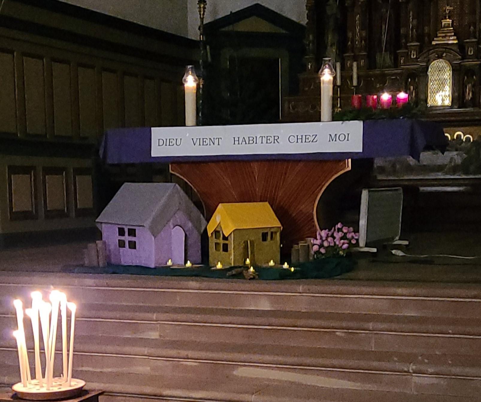 Veillée de prières dans l'esprit de Taizé - Kertzfeld - Décembre 2020
