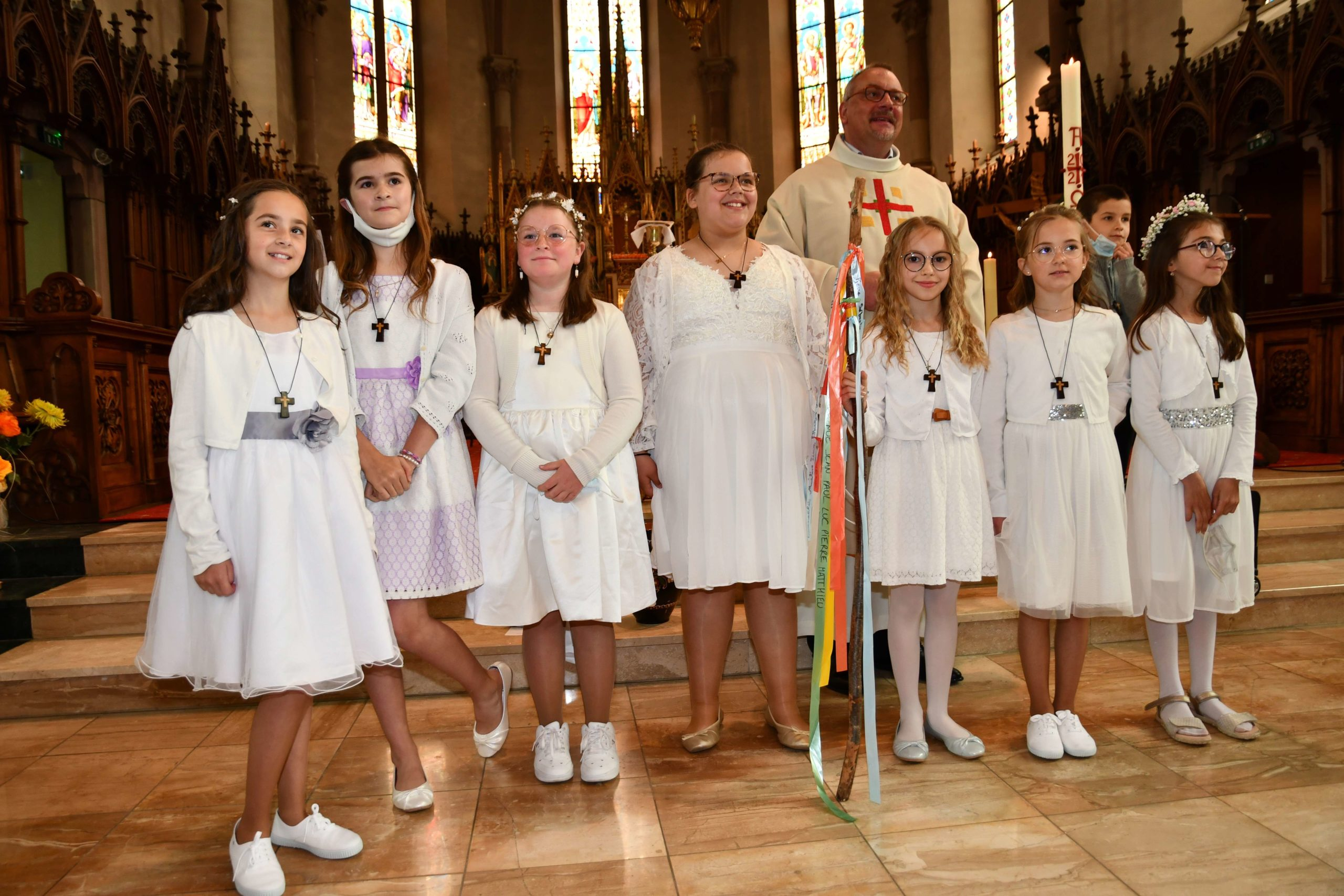 1er Pardon et 1re des communions au sein de nos paroisses - mai 2021