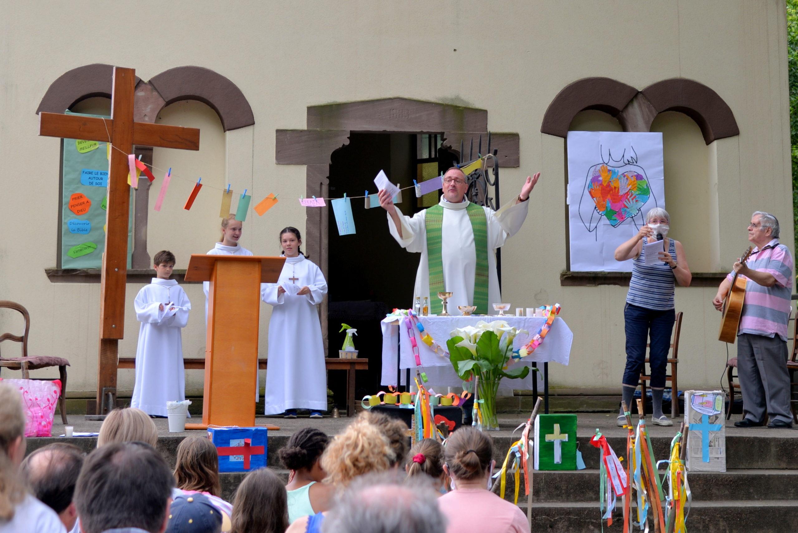Messe à la chapelle Saint-Materne, 27 juin 2021
