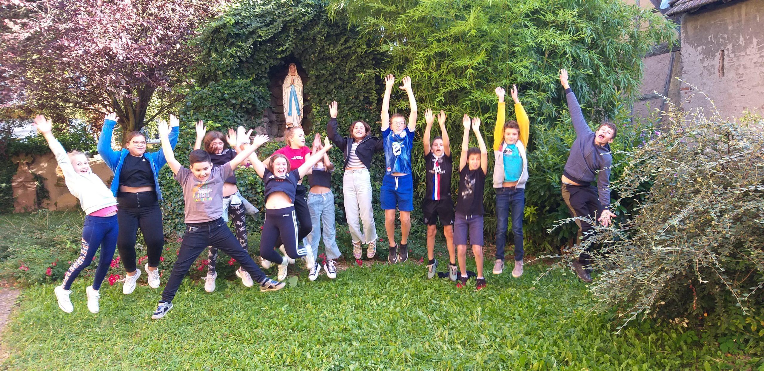 Matzenheim - Rencontre des servants d'autel - 27 août 2021