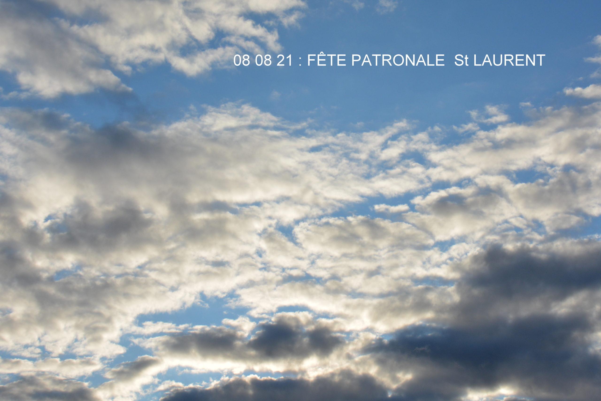 Benfeld - Fête patronale saint Laurent - 08 août 2021