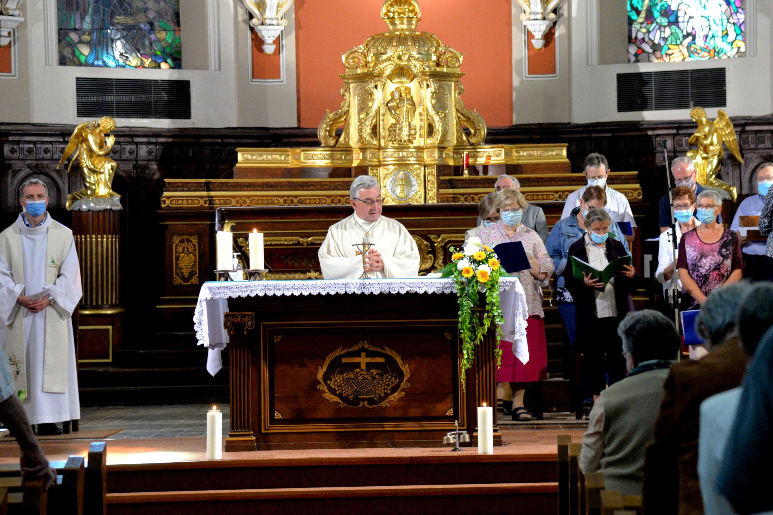 Huttenheim - Messe d'action de grâce de Joseph Lachmann - septembre 2021
